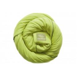 Echarpe de portage vert anis MANDUCA