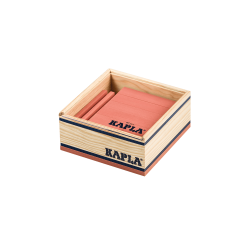Kapla Boite de 40 planchettes de couleurs