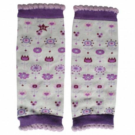 Jambières Nouveau-né Nubies Huggalugs Violettes