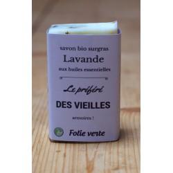 Savon Lavande & Cècre Folie verte
