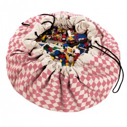 Sac de rangement Diamond Pink Play and Go