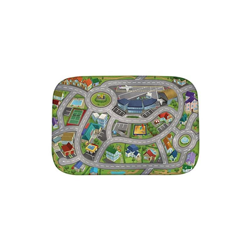 tapis de jeux city airport ultra soft hok parents bio. Black Bedroom Furniture Sets. Home Design Ideas
