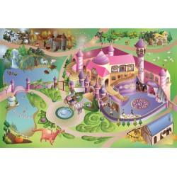 Tapis de jeux ultra soft Princesse HOK