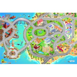 Tapis de jeux ultra soft Seaside HOK