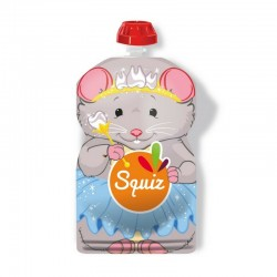 Gourde réutilisable souris pour compote SQUIZ