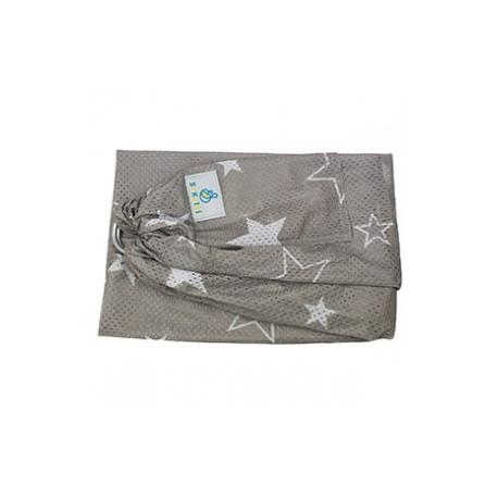 Porte bébé Sling SUKKIRI gris étoiles