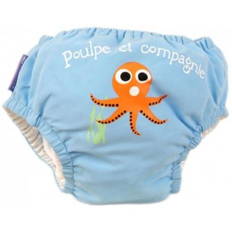 Maillot de bain bébé nageur - Poulpe PIWAPEE