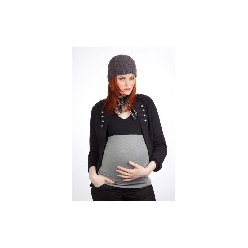 bandeau de grossesse gris basic mamanband parents bio. Black Bedroom Furniture Sets. Home Design Ideas