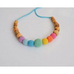 Collier d'allaitement & portage simple rainbow KangarooCare
