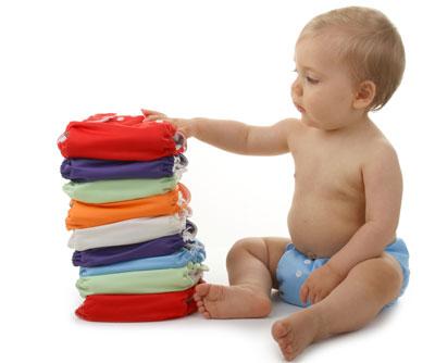 Couche lavable pour bébé