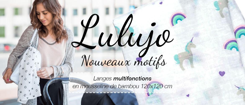 Lulujo langes multifonctions - nouveaux motifs