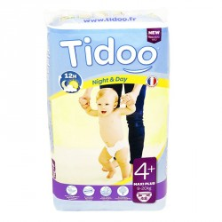 Couches Jetables Ecologiques Tidoo 9-20Kg