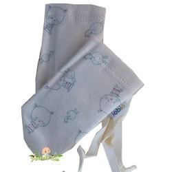 Moufles anti-griffures Coton Petits Chats pastel (iobio)