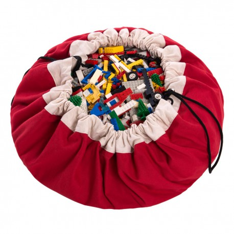 Sac de rangement rouge Play and Go
