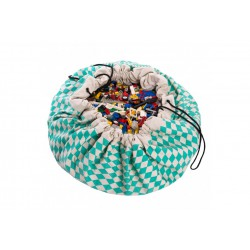 Sac de rangement Diamond Green Play and Go
