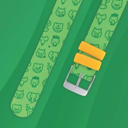 Bracelet de montre Vert - Twistiti