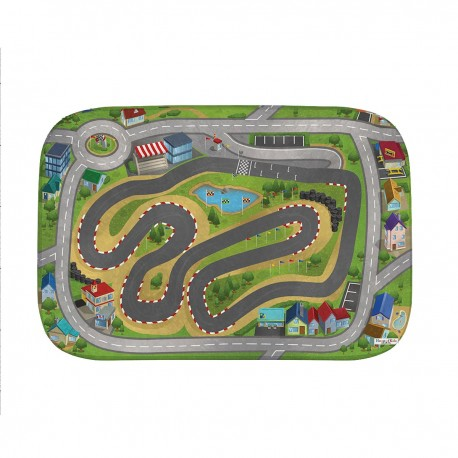 Tapis de jeux ultra soft City Racing HOK