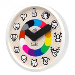 Horloge Animaux Twistiti