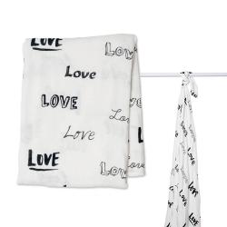 Lange en mousseline Bambou Lulujo Love