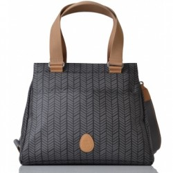 Sac à langer PacaPod Richmond - Charcoal herringbone