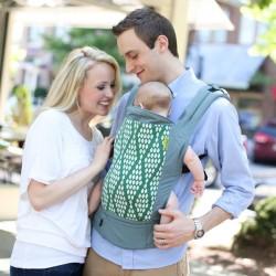 Porte bébé BOBA 4G Verde Coton Bio