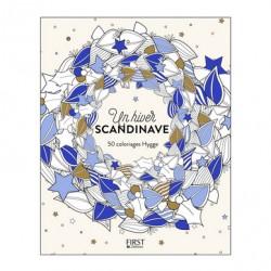 Un hiver Scandinave Coloriages