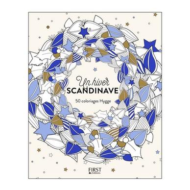 Un Hiver Scandinave Coloriages Parents Bio
