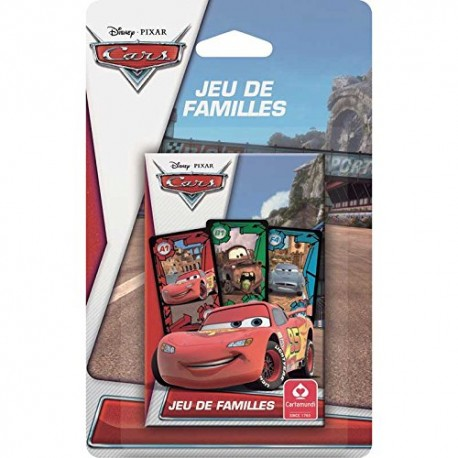 Jeu de 7 familles Cars