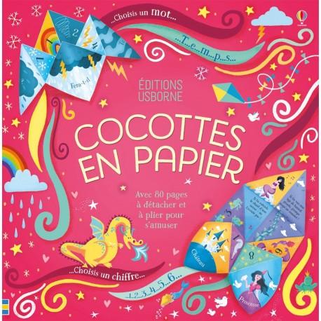Cocottes en papier Editions Usborne
