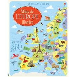 Atlas de L'Europe illustré Usborne