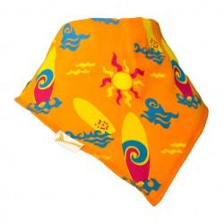 Bavoir bandana Funky Giraffe Surf 100% coton