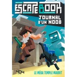 Escape Book Journal d'un Noob Le méga temple maudit