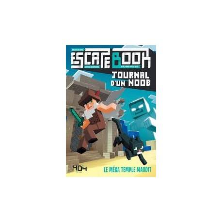 Escape Book Journal d'un Noob Le méga temple maudit