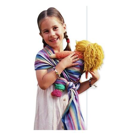 a10b8ab9e1ea ▷ Echarpe porte poupée Storchenwiege - Parents Bio