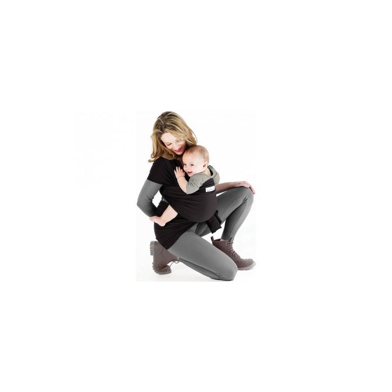 24d53d9f0d1 ▷ Echarpe de portage Basic Presque Noir JPMBB - Parents Bio
